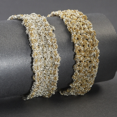 Braided and Knitted Bracelets
